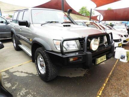 1998 Nissan Patrol GU ST Gold 5 Speed Manual Wagon Minchinbury Blacktown Area Preview