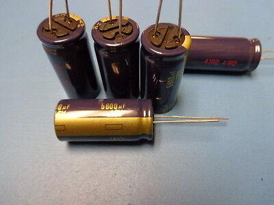 5 Panasonic Eeu-fc1c562l 5600uf 16v 20 105c Aluminum Electrolytic Capacitor