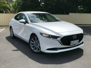 2020 Mazda 3 BP2S7A G20 SKYACTIV-Drive Evolve White 6 Speed Sports Automatic Sedan Bridgewater Adelaide Hills Preview