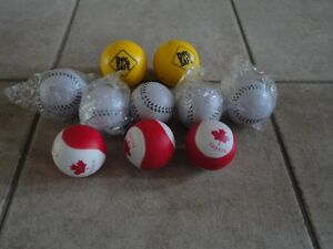 Lot of assorted soft balls brand new