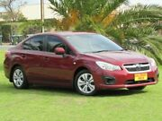 2012 Subaru Impreza G4 MY12 2.0i Lineartronic AWD Maroon 6 Speed Constant Variable Sedan Hendon Charles Sturt Area Preview