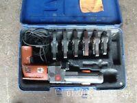 Viega Pressgun / Crimp Press Machine / Crimping Tool + 6 Pressing Jaws