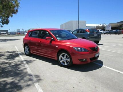 2004 Mazda 3 BK Neo Red 4 Speed Auto Activematic Hatchback Epping Whittlesea Area Preview