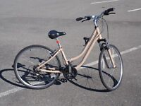 Small, Medium and Large Norco Hybrid Bikes, 21 Speed