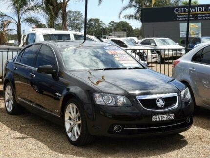 2011 Holden Calais VE II V Black 6 Speed Sports Automatic Sedan Minchinbury Blacktown Area Preview