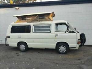 1985 Toyota HiAce LWB White 3 Speed Automatic Van Ashmore Gold Coast City Preview