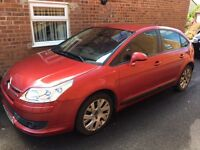 Citroen C4 VTR+ HDI Auto - Wicked Red, 91000 miles