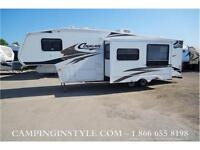 Used 2006 Cougar 281BHS - Bunk Fifth Wheel