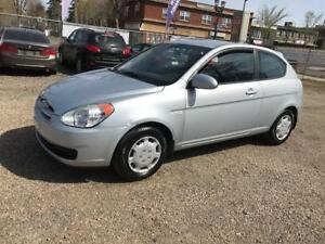 2008 Hyundai Accent Hatchback, Manual, 88,082kms ONLY