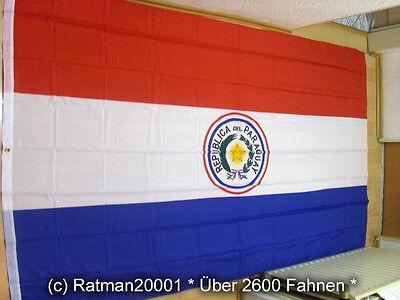 Fahnen Flagge Paraguay - 1 - 150 x 250 cm