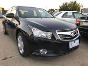2010 Holden Cruze JG CDX Black 6 Speed Sports Automatic Sedan Maidstone Maribyrnong Area Preview