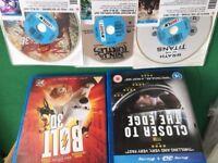 BLU RAY 3D films x 5