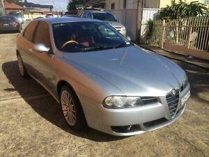 2005 Alfa Romeo 156 MY2005 JTS Silver 5 Speed Manual Sedan Yagoona Bankstown Area Preview