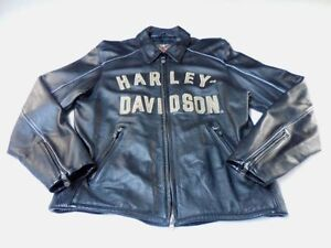 HARLEY DAVIDSON 100th ANNIVERSARY LEATHER JACKETS, HIS & HERS