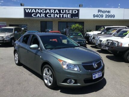 2012 Holden Cruze JH MY13 CD Equipe Grey 6 Speed Automatic Sedan Wangara Wanneroo Area Preview