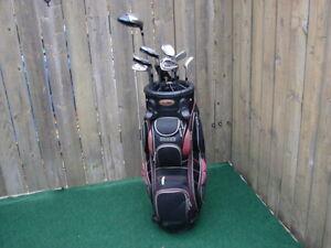 Men's Right Hand Golf sets Adams & Bag boy golf bag