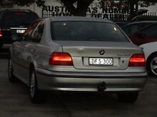 2000 BMW 5 28I Silver 5 Speed Auto Steptronic Sedan Homebush Strathfield Area Preview