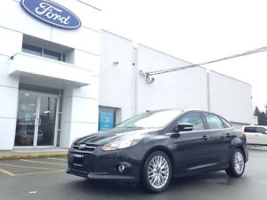2014 Ford Focus Titanium with Leather, Navigation and Heated Sea