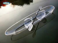 New-Winner VUE1 100% Transparent Kayak w/paddles
