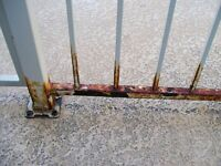 Do you have RUSTED Iron Rod Exterior Railing