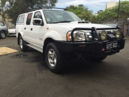 2012 Nissan Navara D22 Series 5 ST-R (4x4) White 5 Speed Manual Dual Cab Pick-up Woodbine Campbelltown Area Preview
