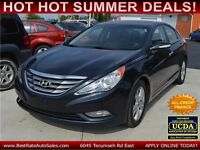 2011 Hyundai Sonata Limited Auto, $49/Weekly, 100% ALL APPROVED!
