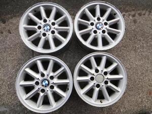 "4 used 15"" BMW alloy rims 5x120"