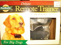 PETSAFE DELUXE REMOTE TRAINER FOR BIG DOGS