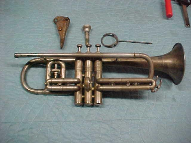 Antique Conn 6A Victor Cornet without Mechanism, Good Condition
