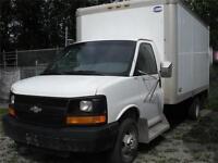 2005 Chevrolet Express 14 Ft Cube Box Van 3500 One Ton $8,900 OB