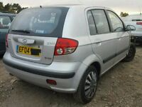 HYUNDAI GETZ BREAKING FOR SPARES 2004 ONWARDS TEL 07814971951 WE HAVE MANY IN STOCK WHEEL NUT ONLY