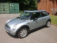 Mini One 12 Months MOT New Brake Pads & Disc's Very Good Condition