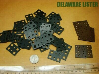 Vintage Radio Project Mixed Lot Electronic Component Fuse Holder Base Plates Nos