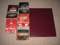 ARSENAL FOOTBALL CLUB CDS AND HISTORY BOOK