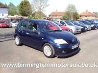 2003 (53 Reg) Citroen C3 1.4 HDI EXCLUSIVE 5DR Hatchback BLUE + ?30 YEARLY TAX