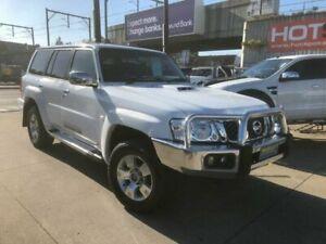 2011 Nissan Patrol GU 7 MY10 TI White Sports Automatic Wagon Granville Parramatta Area Preview