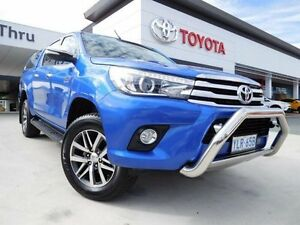 2016 Toyota Hilux GUN126R SR5 (4x4) Blue 6 Speed Automatic Dual Cab Utility Greenway Tuggeranong Preview