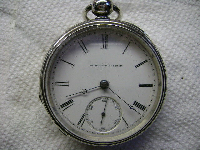 Vintage Elgin H.H. Taylor Key Wind, Key Set Pocket Watch