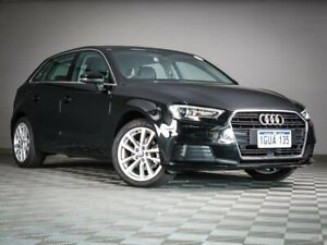 2019 Audi A3 8V MY19 35 TFSI Sportback S Tronic Black 7 Speed Sports Automatic Dual Clutch Hatchback Maddington Gosnells Area Preview