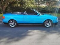 Audi 80 Cabriolet Rare Kingfisher Blue