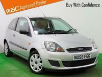2008 (58) FORD FIESTA 1.2 STYLE CLIMATE 16V 3DR Manual