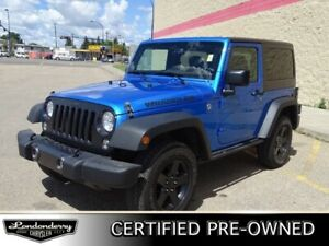 2016 Jeep Wrangler 4WD BIG BEAR Accident Free,  Bluetooth,  A/C,