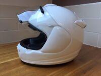 Diamond White Arai Chaser V full face helmet