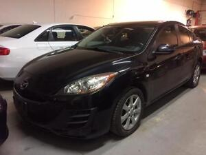 2010 MAZDA 3 TOURING AUTOMATIC ALLOYS STEERING AUDIO CONTROL.