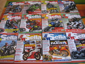 IN-SELLA-rivista-lotto-12-numeri-anno-2005-annata-completa-motociclismo