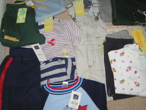 Boy's Assorted Clothing (Up to Size 3) (New)