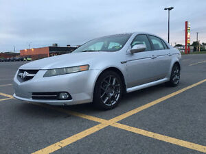 2007 Acura TL Type S Aut NAV GPS Camera Cuir Toit Ouvrant Mags