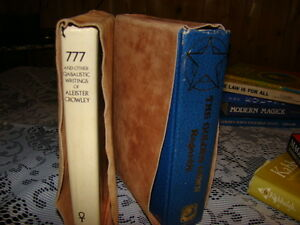 Numerous spiritual occult books, Crowley and more Kingston Kingston Area image 8