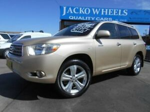 2007 Toyota Kluger GSU40R Grande (FWD) Gold 5 Speed Automatic Wagon Bankstown Bankstown Area Preview