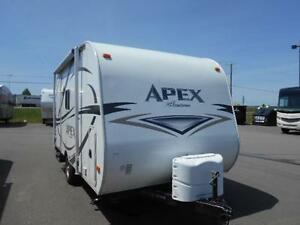 Apex Fiberglass Travel Trailer Model 17FB only 2,647 lbs.